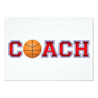 Nice Coach Basketball Insignia Card