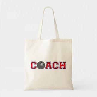 Nice Coach Bowling Insignia Tote Bag