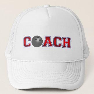 Nice Coach Bowling Insignia Trucker Hat