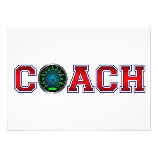Nice Coach Speed Insignia Custom Announcement