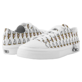 Nice Cold Ice Cream Low Tops
