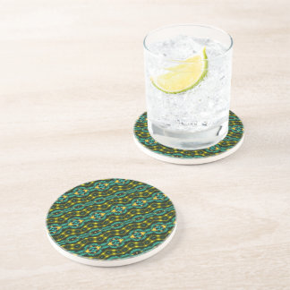 Nice colorful pattern coaster
