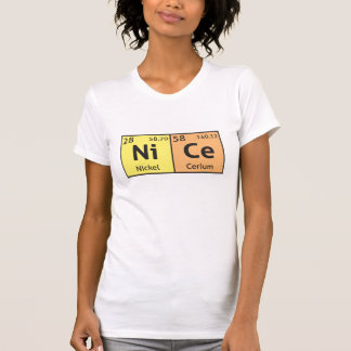 'Nice' comedy science t-shirt