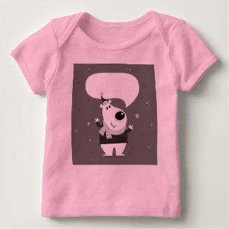 Nice cute teddy : Pink tshirt