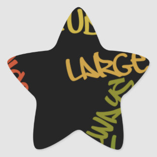Nice Day Better Night Life Large gifts star sticke Star Sticker