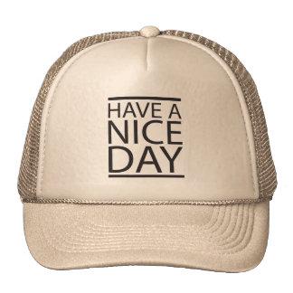 Nice Day Hats