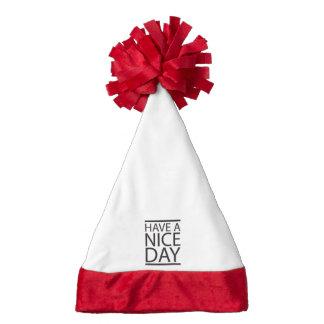 Nice Day Design Santa Hat