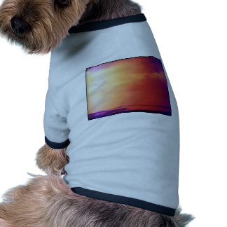 Nice Day on the beach Ringer Dog Shirt