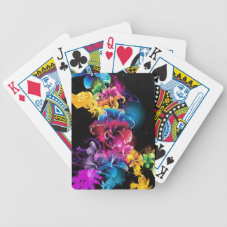 NICE DESIGN FLOWERS BICYCLE PLAYING CARDS