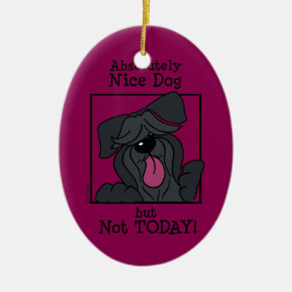 Nice dog - emergency but today christmas ornament
