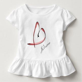nice drawing small heart toddler T-Shirt