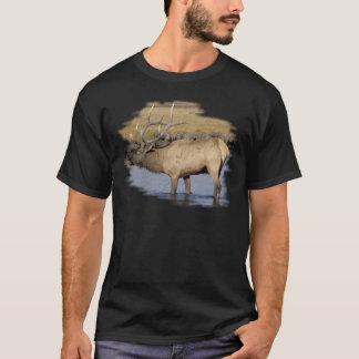 Nice Elk in the stream T-Shirt