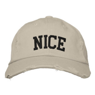 Nice Embroidered Hat Embroidered Baseball Caps