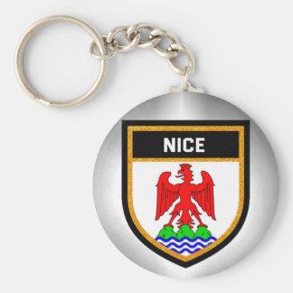 Nice Flag Key Ring