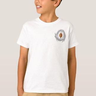 Nice Football Circular Grunge T-Shirt