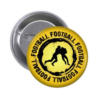 Nice Football Seal 6 Cm Round Badge