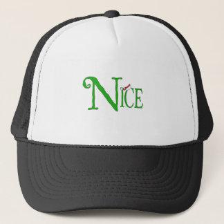 Nice for Christmas Trucker Hat