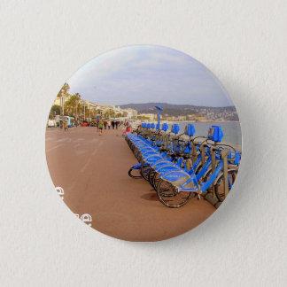 Nice France #1 6 Cm Round Badge