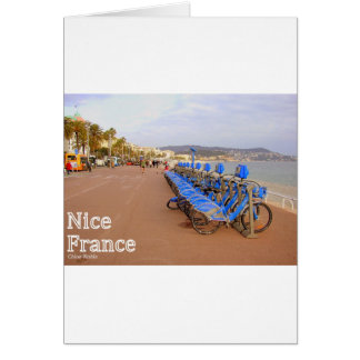 Nice France #1 Greeting Card