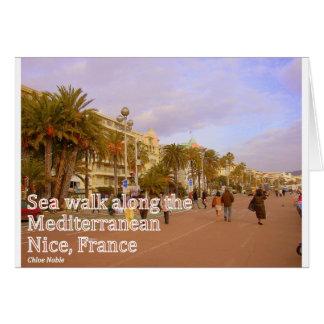 Nice France #3 Card