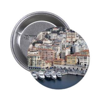 Nice France 6 Cm Round Badge
