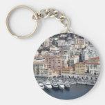 Nice France Basic Round Button Key Ring