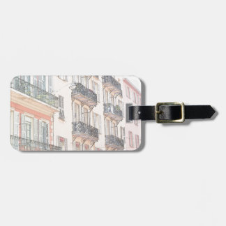 Nice France City Streets Luggage Tag