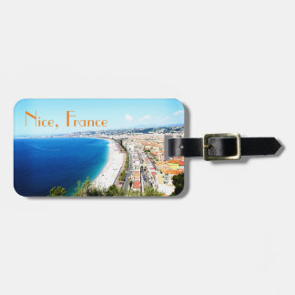 Nice France Customizable Travel Luggage Tag