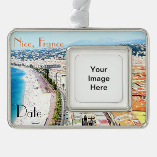 Nice France Customizable Travel Ornament