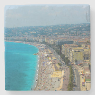 Nice France located in the French Riviera Stone Coaster