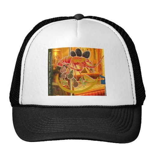 Nice, France - Stained glass window Mesh Hats