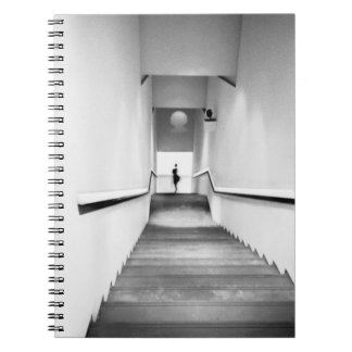 Nice France, Staircase Museum of Modern Art Notebooks