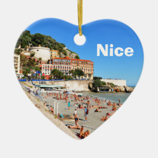 Nice. French Riviera Christmas Ornament