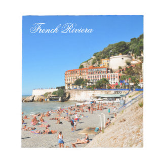 Nice. French Riviera Notepad