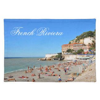 Nice. French Riviera Placemat