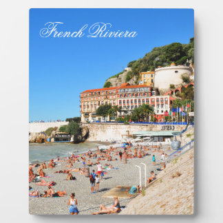 Nice. French Riviera Plaque