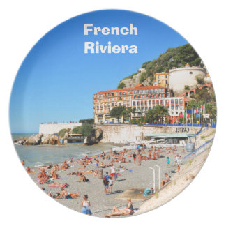Nice. French Riviera Plate