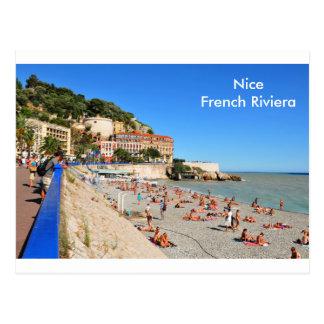 Nice. French Riviera Postcard