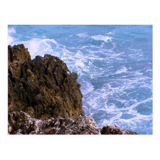 Nice, French Riviera, Rocky coast, Mediterranean Postcard