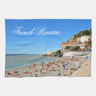 Nice. French Riviera Tea Towel