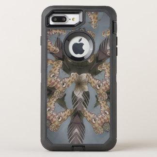 Nice Giraffe blank defender black OtterBox Defender iPhone 8 Plus/7 Plus Case
