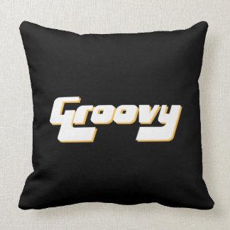 Nice Groovy Print Cushion
