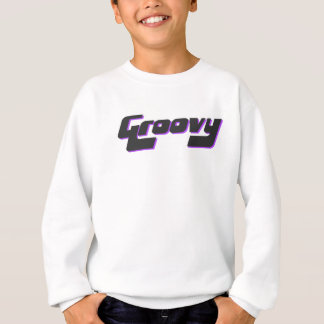 Nice Groovy Print Sweatshirt