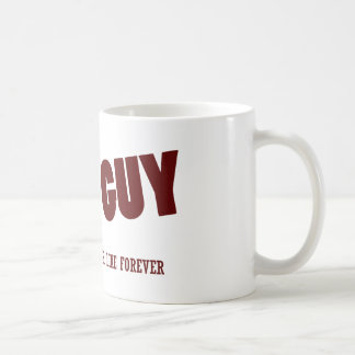 Nice guy finishing last coffee mug