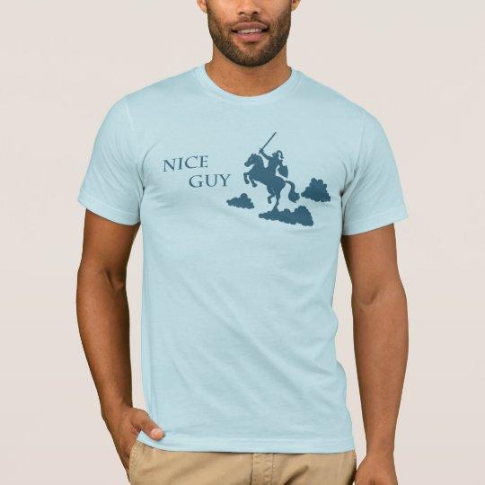 Nice Guy in Shining Armour (Navy) T-Shirt
