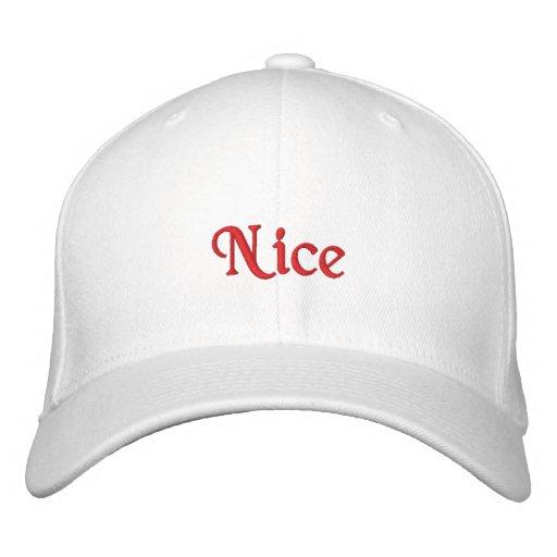 """Nice"" Hat Baseball Cap"