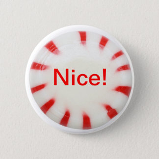 Nice! Holiday button - naughty or nice!