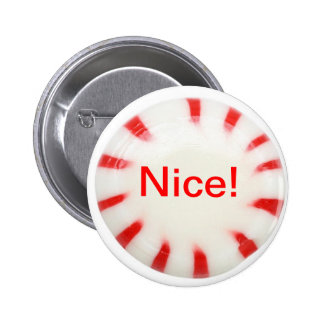 Nice! Holiday button - naughty or nice!