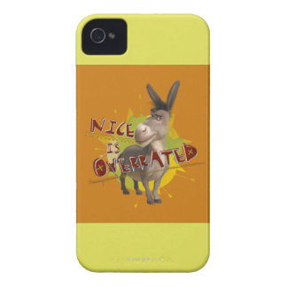 Nice Is Overrated Case-Mate iPhone 4 Case