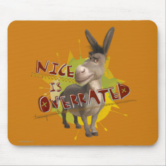 Nice Is Overrated Mouse Mat